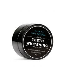 Teeth Whitening 100% organic - sort tandpasta med aktivt kul